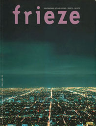 Frieze, 1998 cover