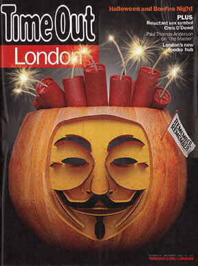 Time Out cover, Oct 2012