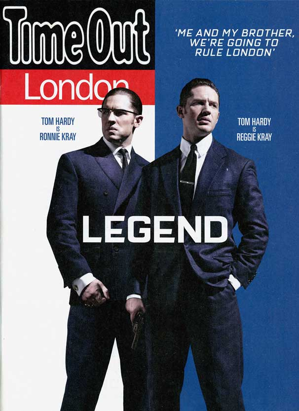 Time Out, London Sept 2015 cover