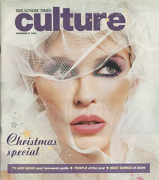 The Sunday Times Culture magazine cover