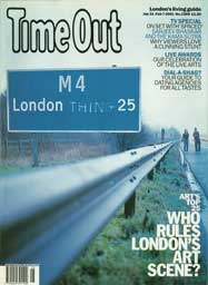 Time Out 2001 magazine cover