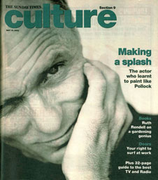 Sunday Times Culture, May 2002 cover